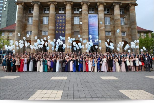 Fotos beim Abiball in Kassel für das Goethe Gymnasium