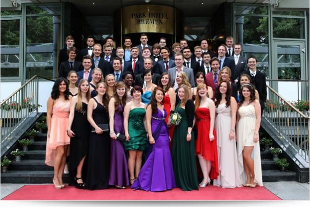 Abiturfeier in Bremen für das Schulzentrum Walle