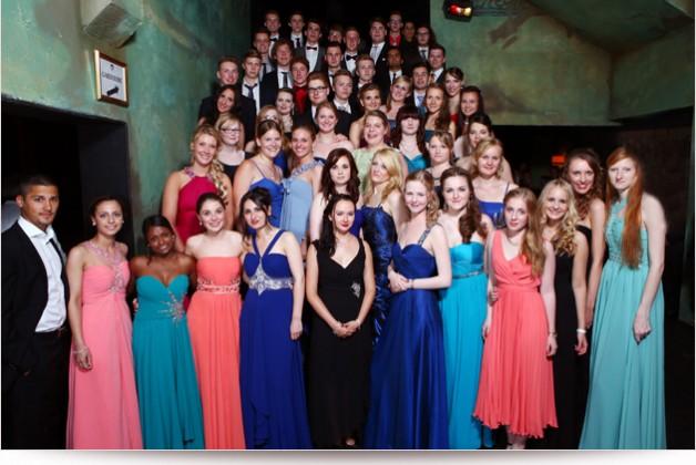 Abschlussballfotos beim Abiball der Johann-Comenius Schule in Hamburg