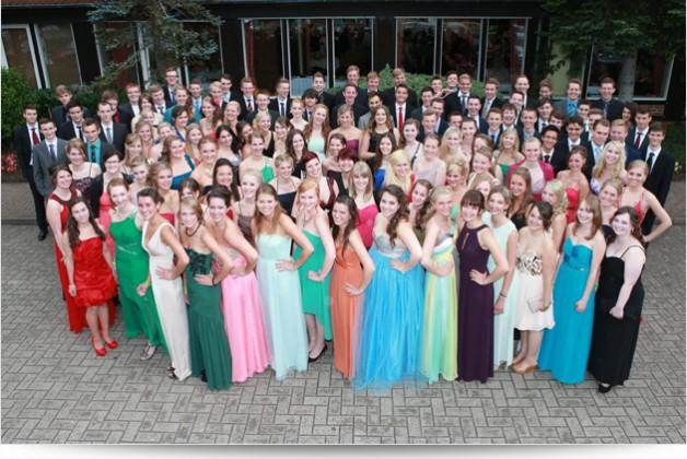 Abiturballfotos beim Abiball für das Cato Bontjes van Beek Gymnasium Aachen